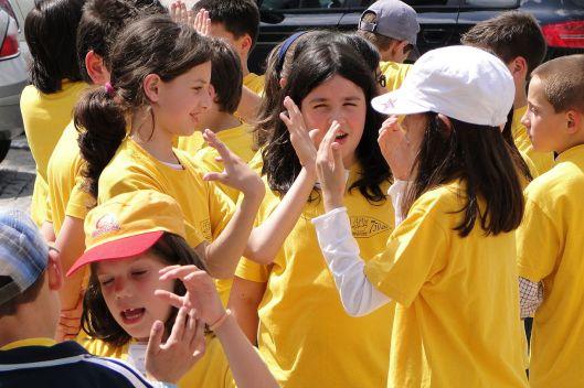 Schoolgirls_at_Play_-_Porto,_Portugal_(4642960434), by Adam Jones