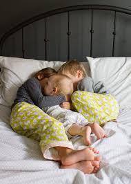 Pajamas-siblings
